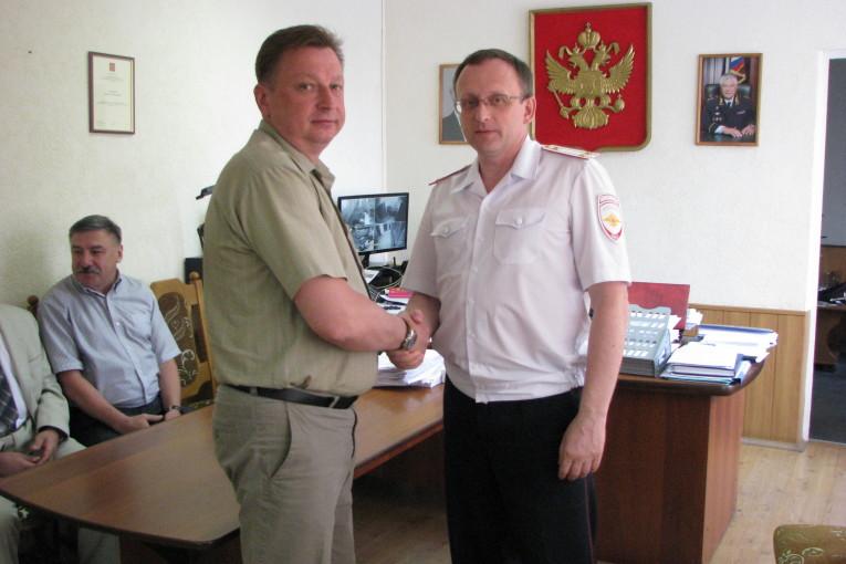 Сотрудничество общественности  и полиции