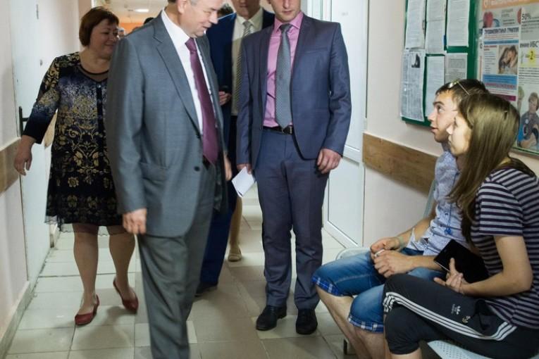 Анатолий Артамонов  побывал с рабочей поездкой  в Малоярославце