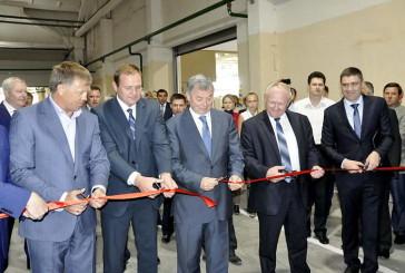 Новое производство открылось на ЗАО «Плитспичпром»