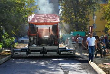 Представители администрации г.Балабаново проверили ход работ по асфальтированию дворовых проездов