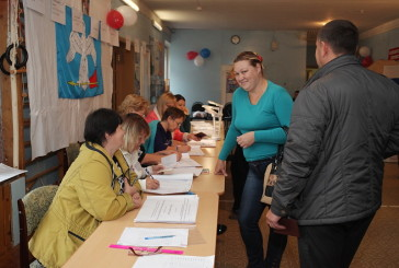 По данным областной избирательной комиссии, в Боровском районе на 18.00 проголосовали 13697 избирателей, что составляет 31,42% от общего числа избирателей.