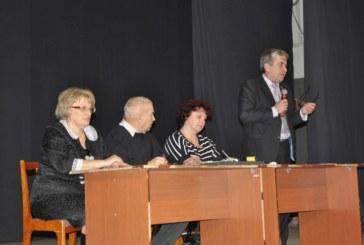 2 декабря в ДК г.Балабаново состоялось отчетно-выборное собрание городского общества инвалидов