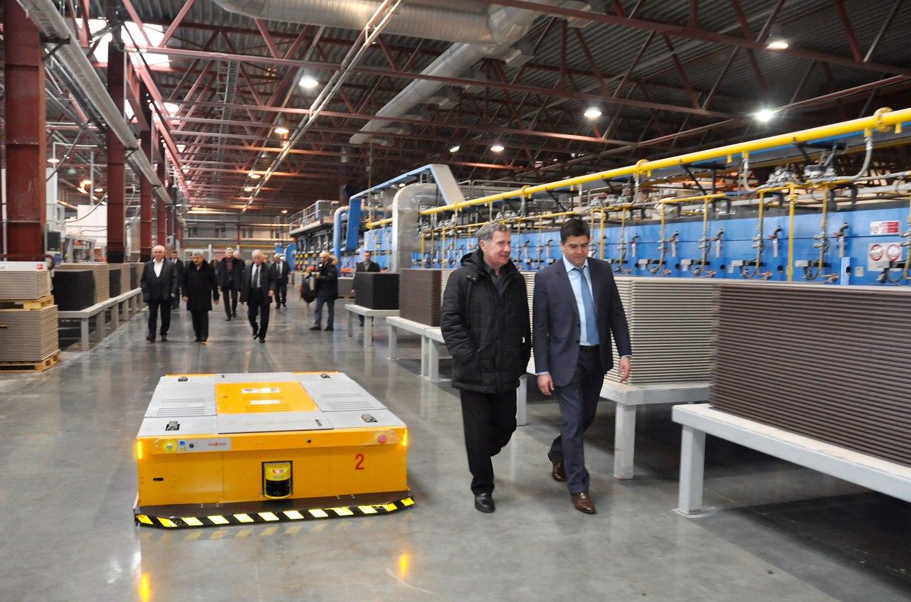 12 февраля в Балабанове на заводе «Керамика будущего»  состоялось выездное заседание НП «Деловое Собрание России»