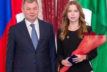 В Калуге состоялась церемония вручения почетных наград труженикам области