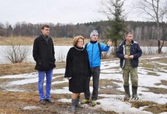 В администрации г.Балабаново наметили объем работ для устройства лыжной трассы в зоне отдыха реки Страдаловки