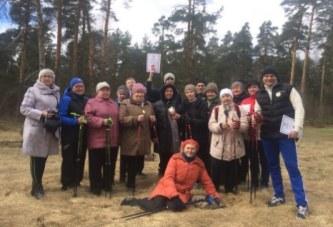 Медали в соревнованиях по скандинавской ходьбе «Боровские скороходы»