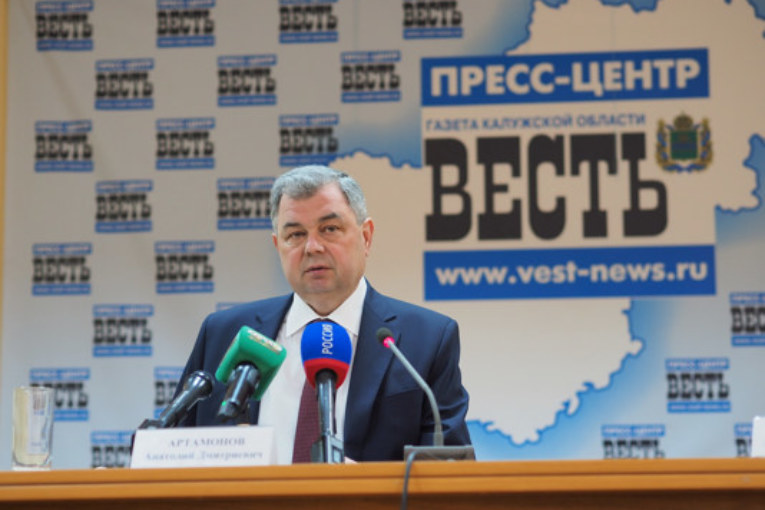 Анатолий Артамонов встретился с калужскими журналистами