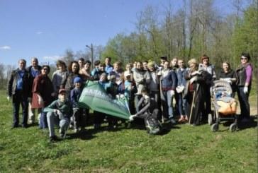 По инициативе коллектива редакции газеты «Балабаново» и волонтёрского отряда при БГДК состоялась акция «Чистый город»