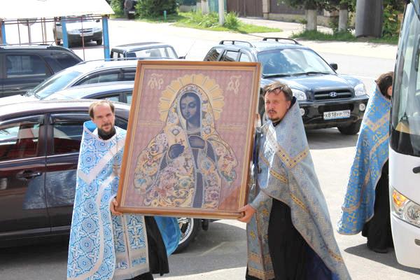На боровскую землю прибудет икона Калужской Божией Матери