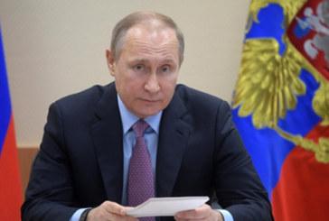 Президент РФ Владимир Путин направил приветствие работникам и ветеранам строительной отрасли
