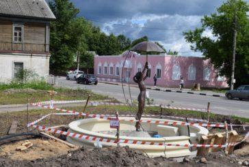 Скульптура девочки в фонтане Боровска будет находиться под круглосуточным видеонаблюдением