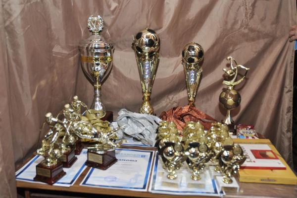 Призеры турнира получили награды