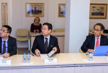 Анатолий Артамонов встретился со специальным советником Премьер-министра Японии Эйити Хасэгава