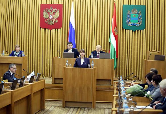Депутаты приняли областной бюджет на следующий год