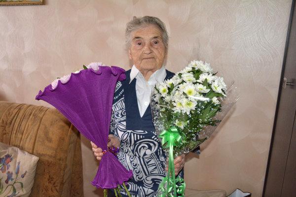 Труженице тыла исполнилось 90 лет