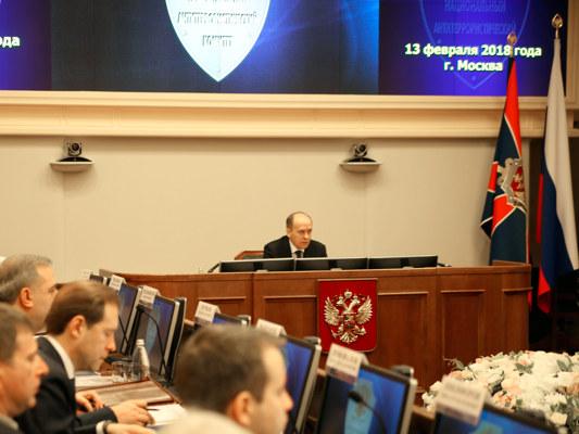 Анатолий Артамонов принял участие в заседании Национального антитеррористического комитета