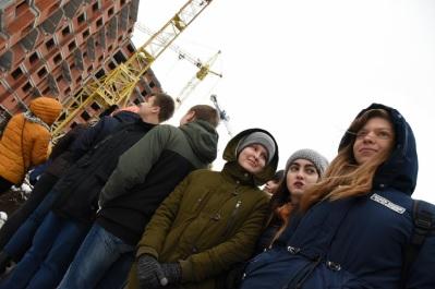 Калужским старшеклассникам рассказали о перспективах развития строительства в регионе