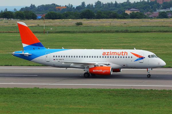 Авиакомпания Азимут начала выполнение прямых рейсов из Калуги в Сочи