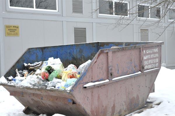 Вывоз мусора – по графику