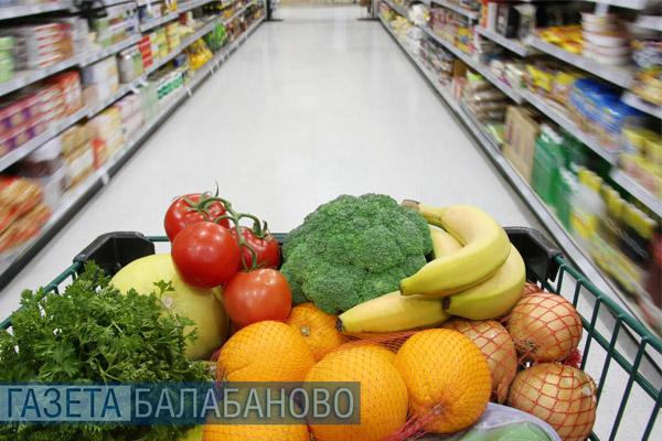 Значительного повышения цен и дефицита продовольственных товаров на территории области не наблюдается