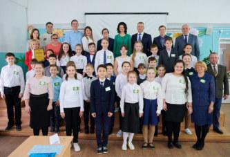 В Боровском районе открыли экологический класс