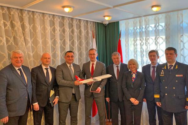 Калужская область заинтересована в развитии международных авиасообщений