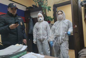 Сотрудники ОМВД по Боровскому району проводят рейды по месту проживания граждан, вернувшихся из-за границы