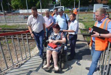 Пешеходный переход на станции Балабаново требует доработки