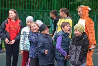 Очередное мероприятие проекта «Выходи во двор играть» прошло на новой спортивной площадке у школы №2 на ул.Дзержинского