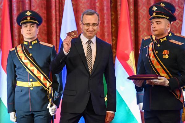 Владислав Шапша вступил в должность Губернатора Калужской области