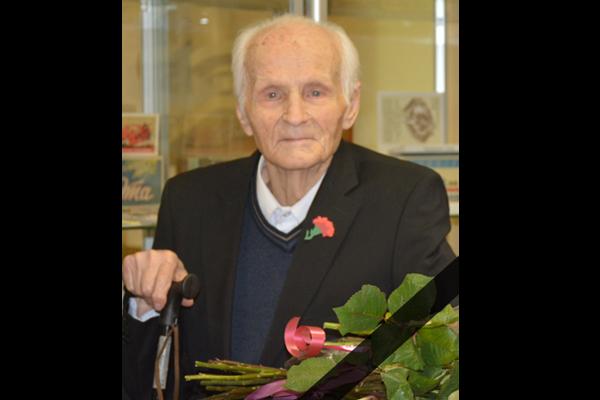 13 октября на 97-ом году жизни скончался ветеран Великой Отечественной войны, Почётный гражданин г.Балабаново Григорий Ильич Вареница