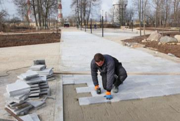 Сквер Памяти преображается